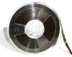 Old reel-to-reel tape